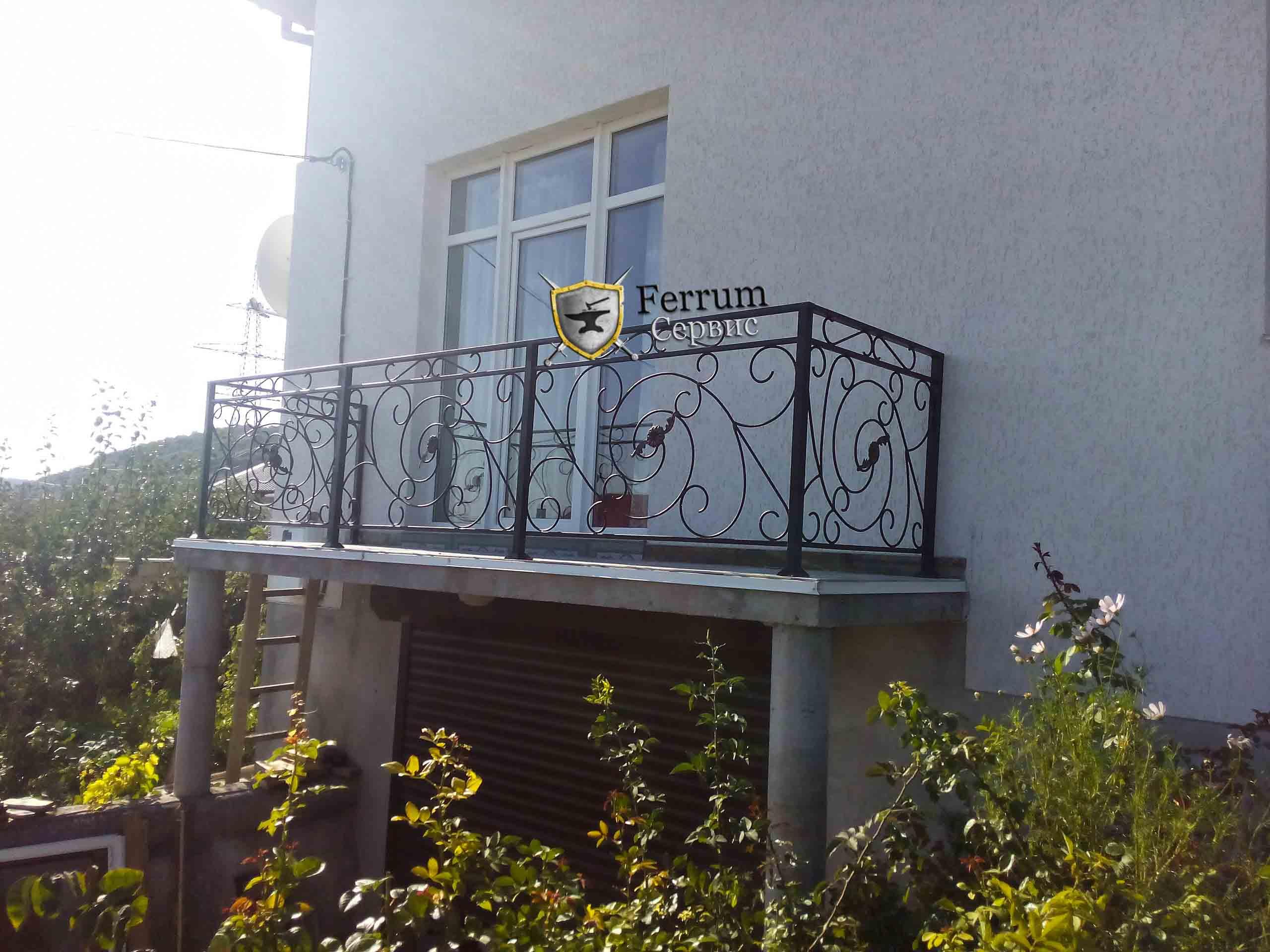 балконное ограждение7