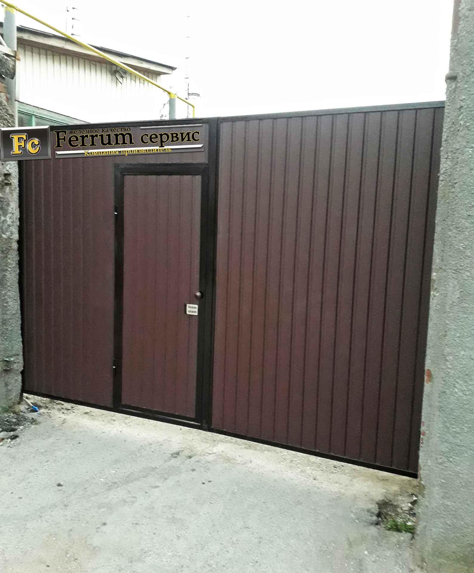 ворота распашные6