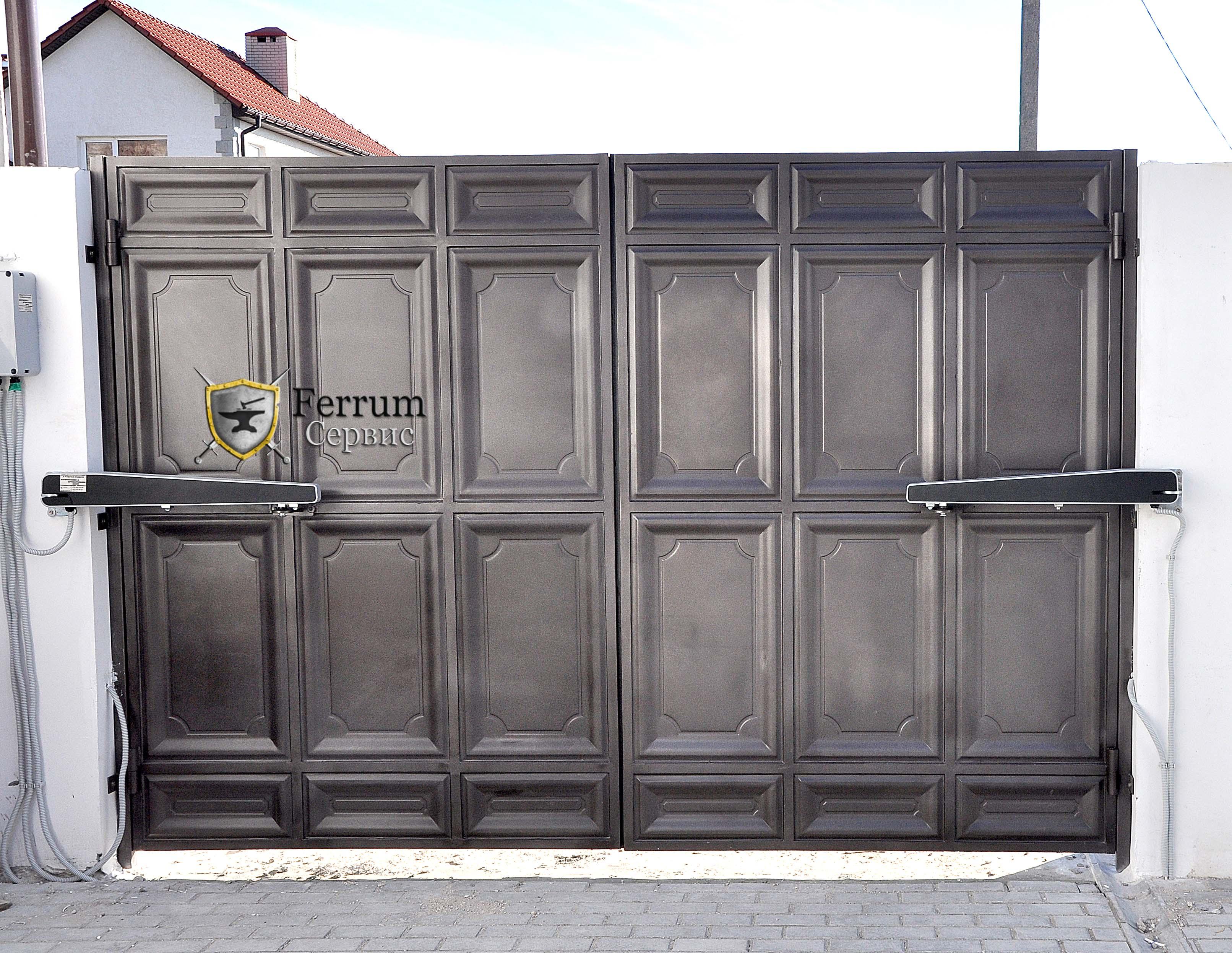 ворота с филёнки9