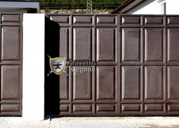 ворота с филёнки5